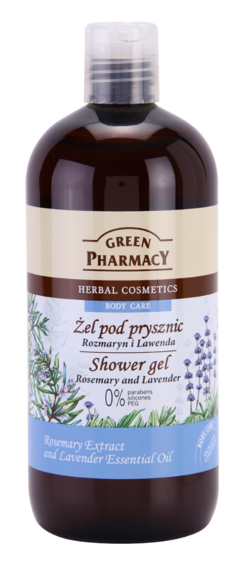 Green Pharmacy Body Care Rosemary & Lavender żel pod prysznic