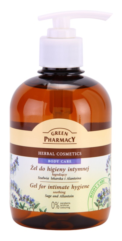 Green Pharmacy Body Care Sage & Allantoin zklidňující gel na intimní hygienu