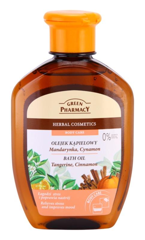 Green Pharmacy Body Care Tangerine & Cinnamon Bath Oil