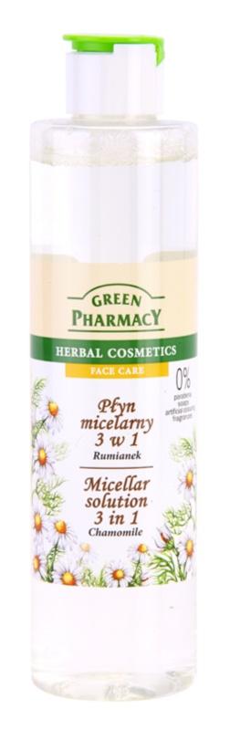 Green Pharmacy Face Care Chamomile micelárna voda 3v1
