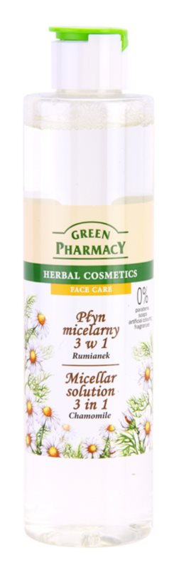 Green Pharmacy Face Care Chamomile micelární voda 3 v 1