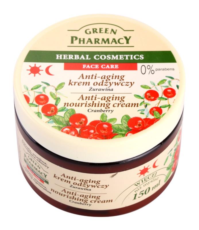Green Pharmacy Face Care Cranberry hranilna krema proti staranju kože