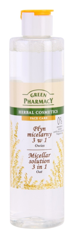 Green Pharmacy Face Care Oat micelární voda 3 v 1