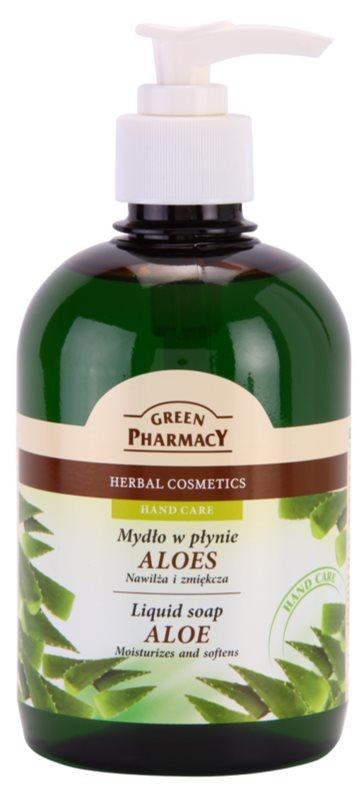 Green Pharmacy Hand Care Aloe Flüssigseife