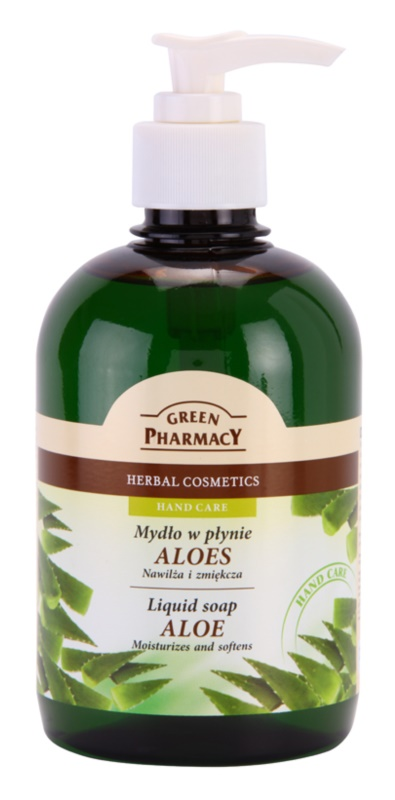 Green Pharmacy Hand Care Aloe jabón líquido