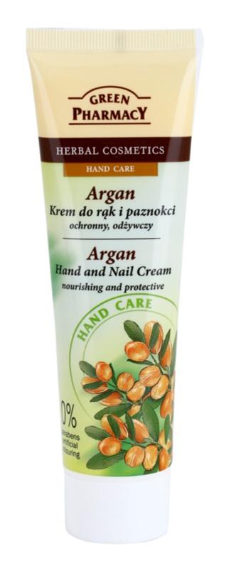 Green Pharmacy Hand Care Argan krem odżywczo-ochronny do rąk i paznokci