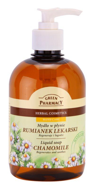 Green Pharmacy Hand Care Chamomile mydło w płynie