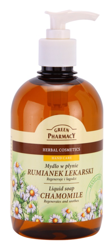 Green Pharmacy Hand Care Chamomile tekuté mydlo