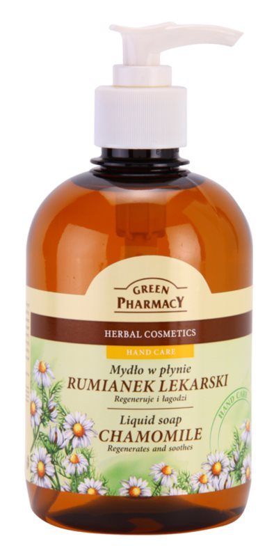 Green Pharmacy Hand Care Chamomile рідке мило