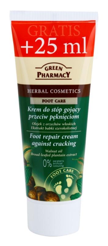 Green Pharmacy Foot Care erneuernde Creme für rissige Fußsohlen