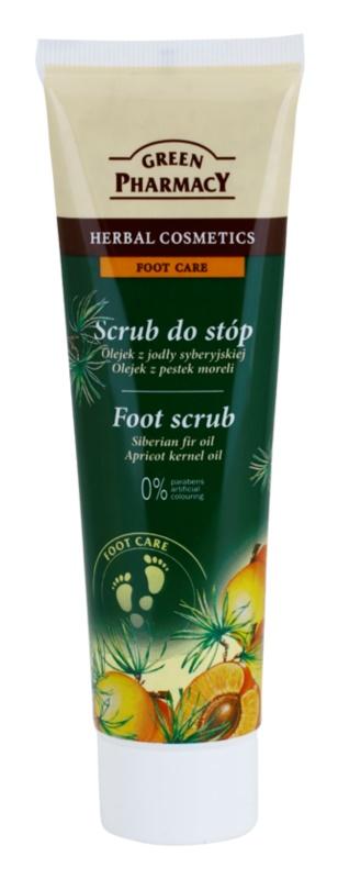Green Pharmacy Foot Care peeling na nohy