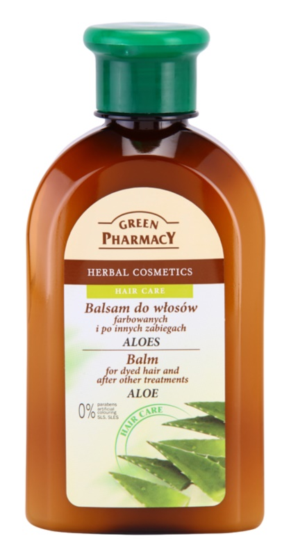 Green Pharmacy Hair Care Aloe Balsam pentru par vopsit si alte tratamente