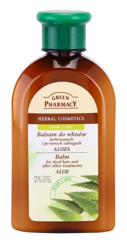 Green Pharmacy Hair Care Aloe balzsam festett, vegyileg kezelt hajra
