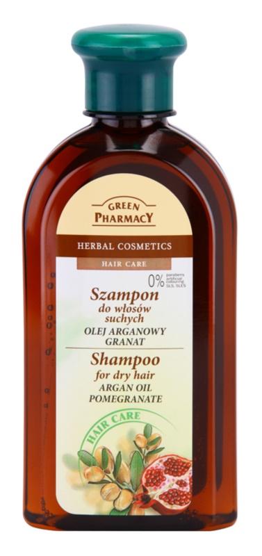 Green Pharmacy Hair Care Argan Oil & Pomegranate sampon pentru par uscat