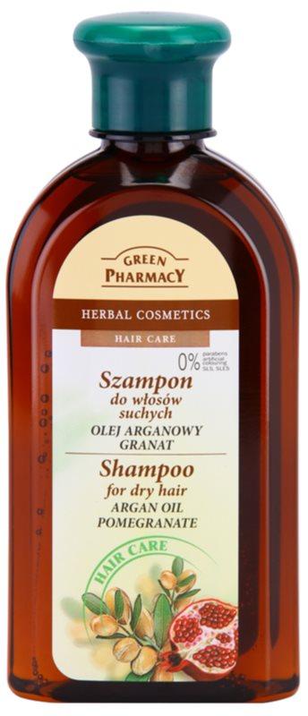 Green Pharmacy Hair Care Argan Oil & Pomegranate šampon za suhe lase