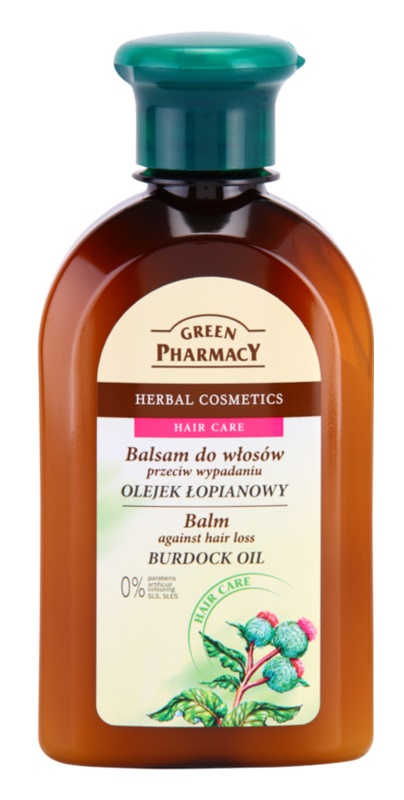 Green Pharmacy Hair Care Burdock Oil balzám proti padání vlasů