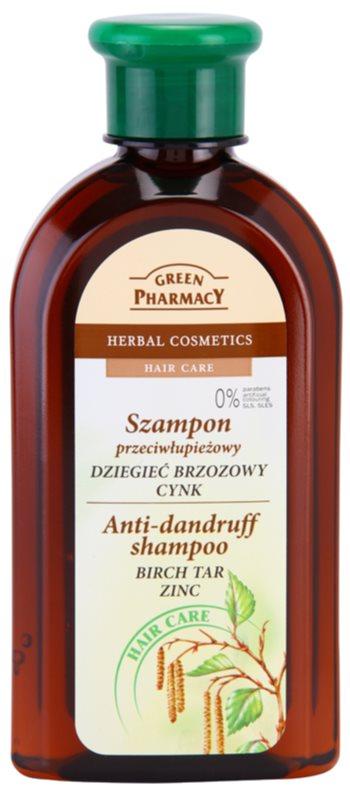 Green Pharmacy Hair Care Birch Tar & Zinc champú anticaspa