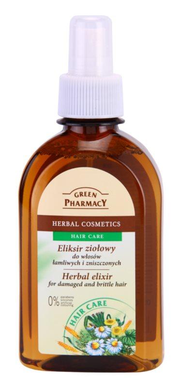 Green Pharmacy Hair Care Kräuterelixir für beschädigtes uns sprödes Haar