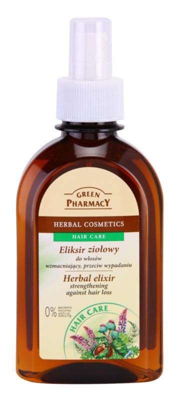 Green Pharmacy Hair Care zeliščni eliksir za krepitev las in proti izpadanju las