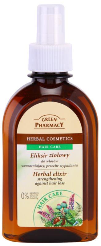 Green Pharmacy Hair Care еліксир на основі трав проти випадіння волосся