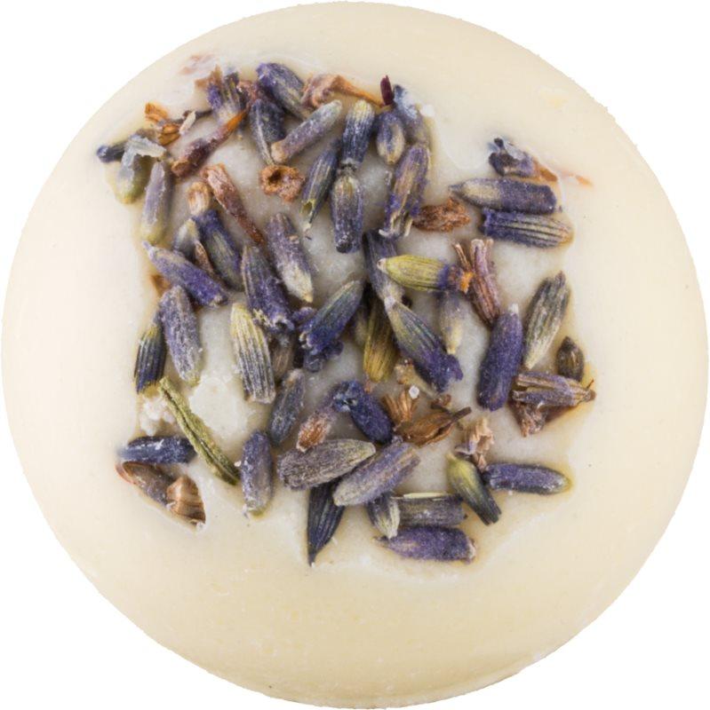 Greenum Lavender krémová guľôčka do kúpeľa