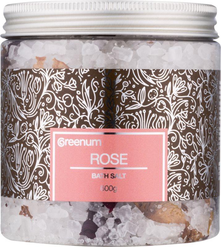 Greenum Rose sol za kopel