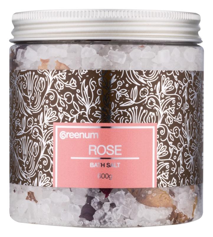 Greenum Rose сіль для ванни