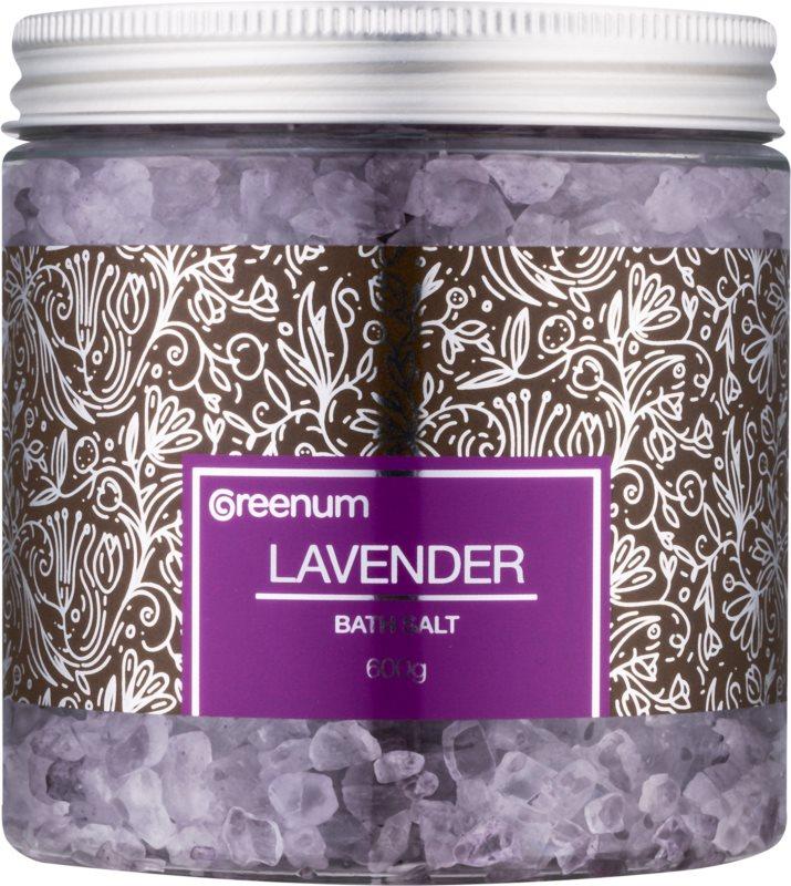 Greenum Lavender koupelová sůl