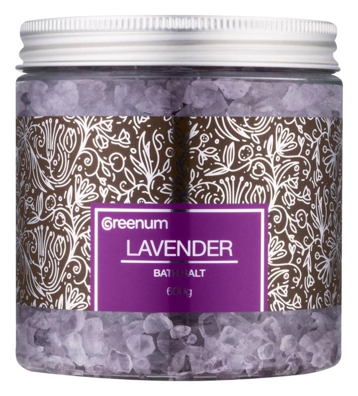 Greenum Lavender сіль для ванни