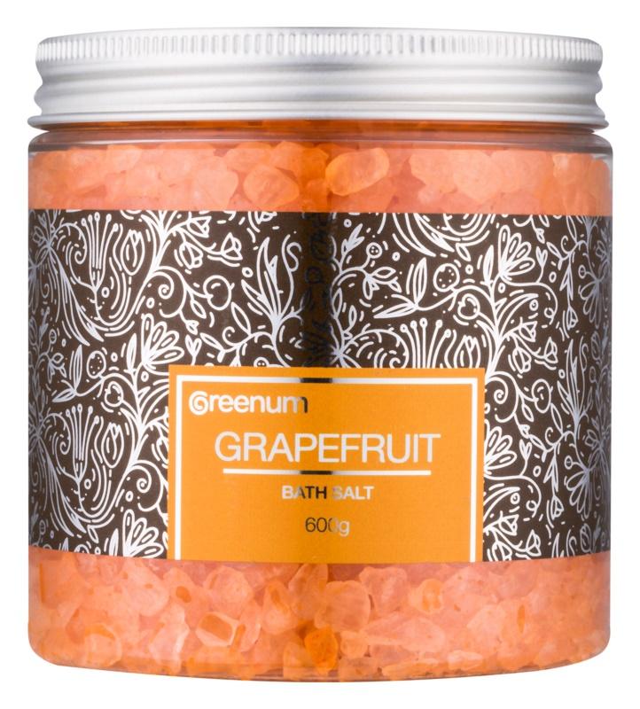 Greenum Grapefruit сіль для ванни