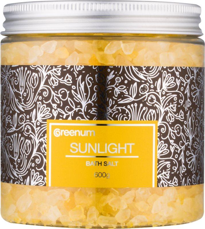 Greenum Sunlight koupelová sůl