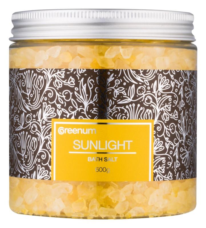 Greenum Sunlight сіль для ванни