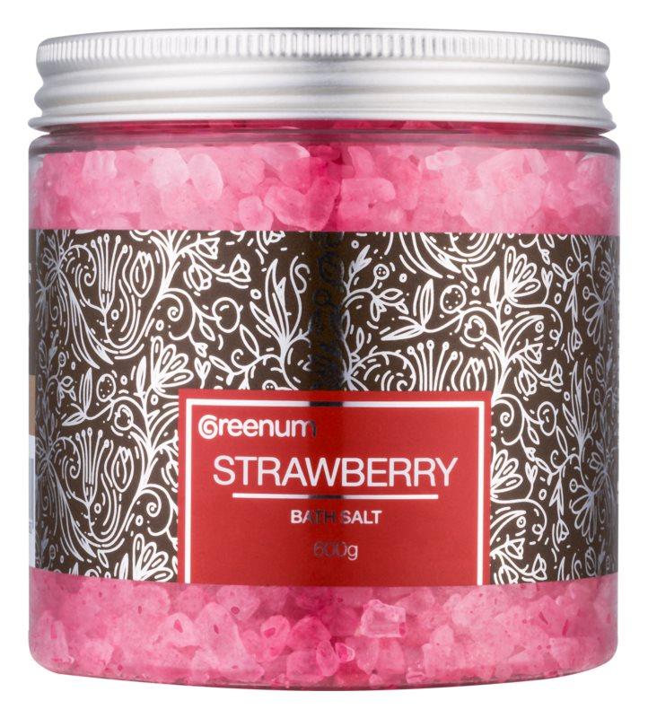 Greenum Strawberry Bath Salt