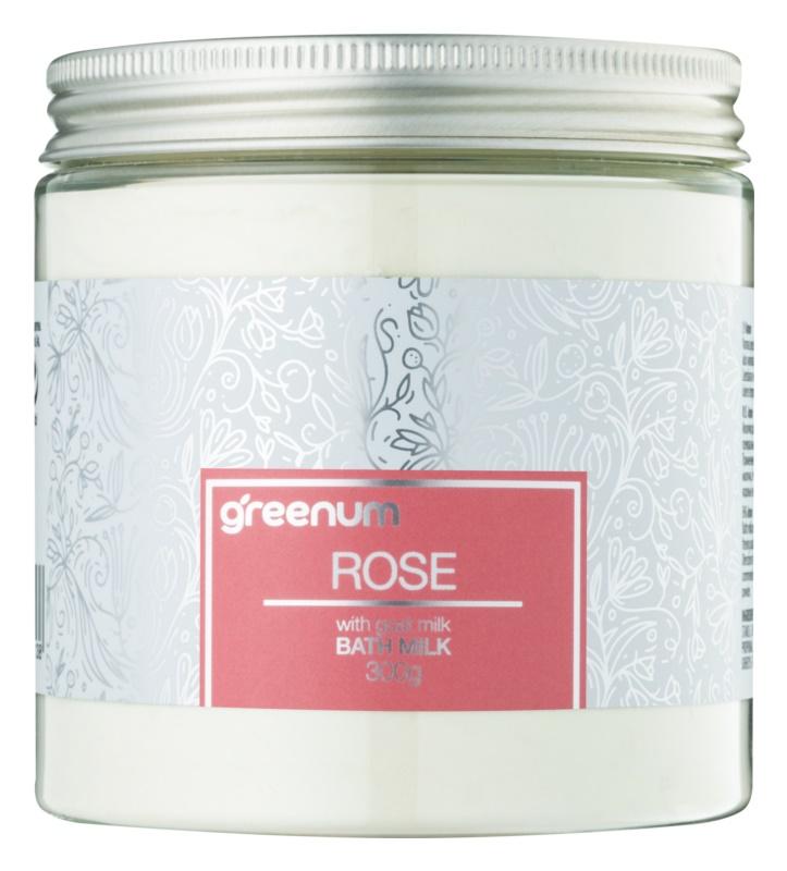 Greenum Rose mléko do koupele v prášku