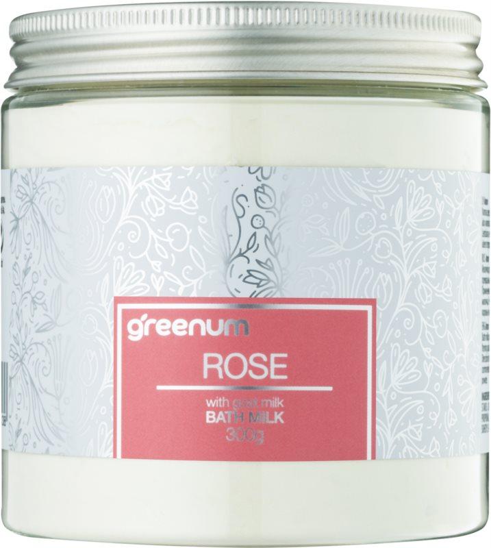 Greenum Rose mlieko do kúpeľa v prášku