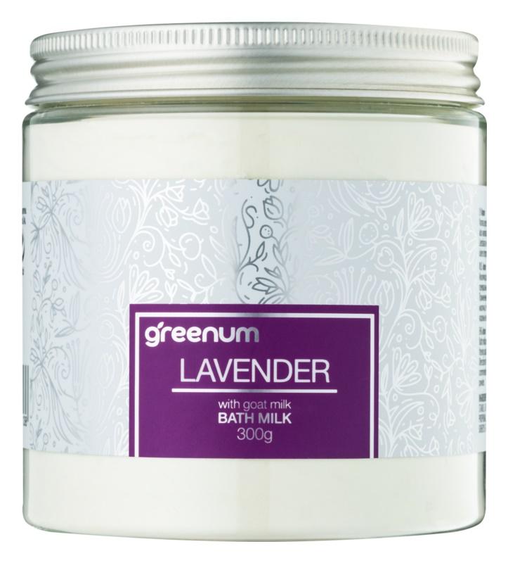 Greenum Lavender mlieko do kúpeľa v prášku