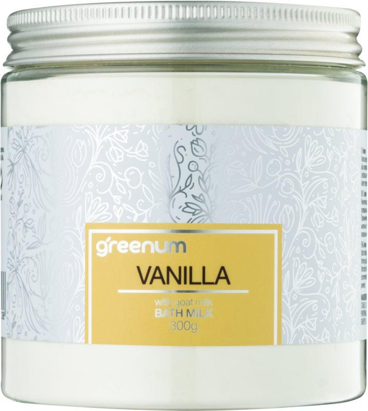Greenum Vanilla mleko za kopel v prahu