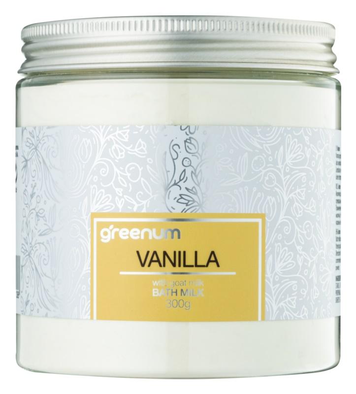 Greenum Vanilla mlieko do kúpeľa v prášku