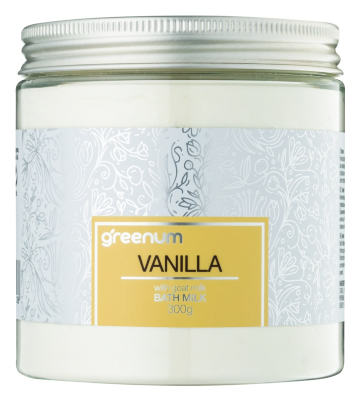 Greenum Vanilla молочко для ванни у вигляді порошку