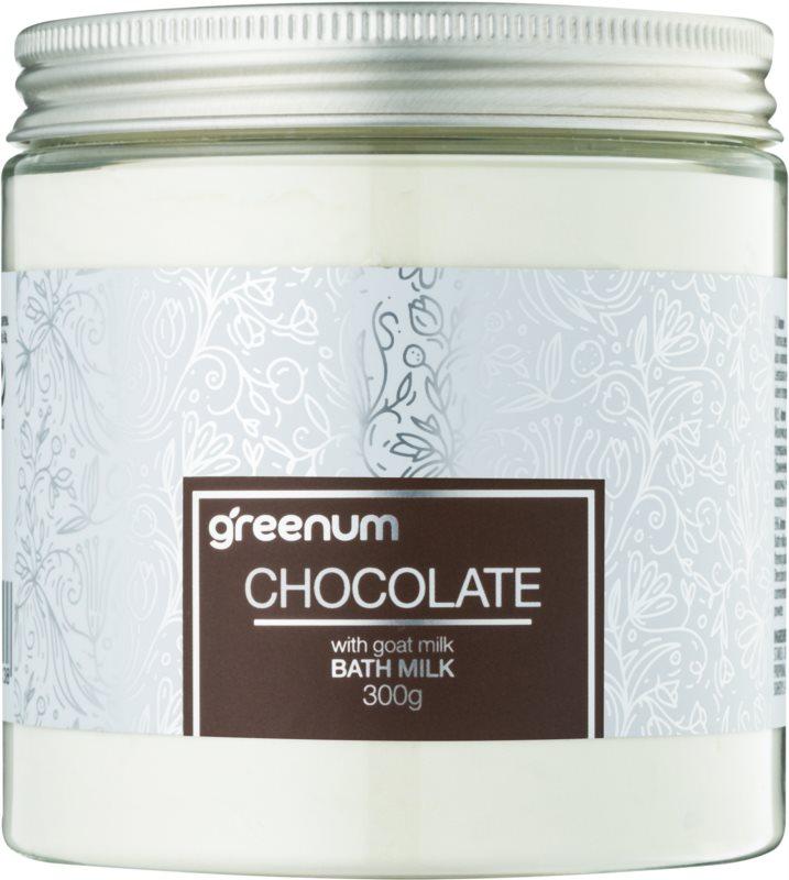 Greenum Chocolate leche de baño en polvo