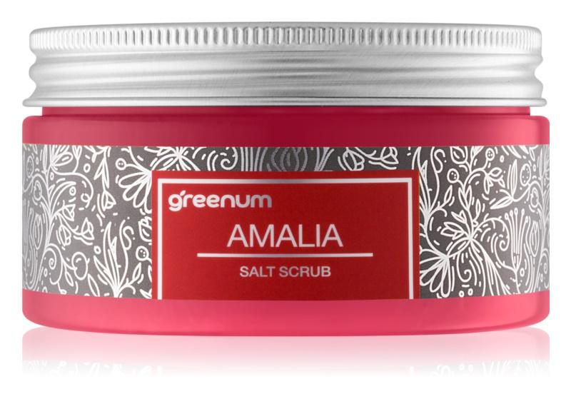 Greenum Salt Scrub exfoliante de sal para el cuerpo