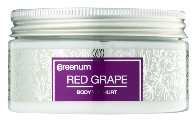 Greenum Red Grape Body Yoghurt