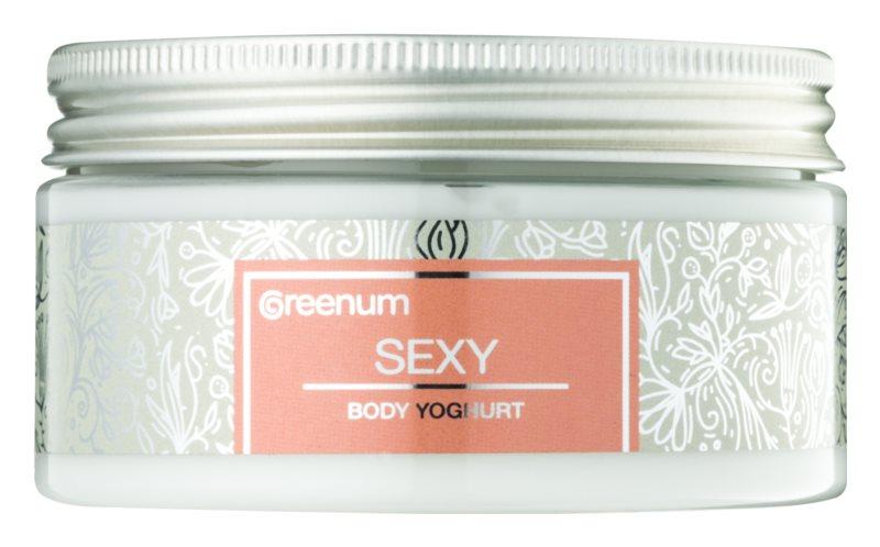 Greenum Sexy йогурт для тіла