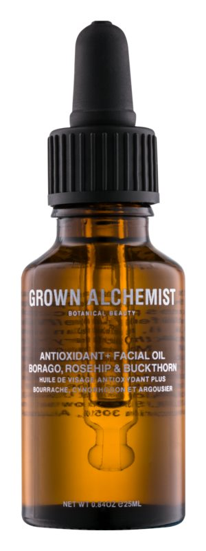 Grown Alchemist Activate intenzívny antioxidačný pleťový olej na deň a noc