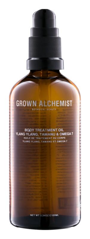 Grown Alchemist Hand & Body ošetrujúci telový olej pre suchú a citlivú pokožku