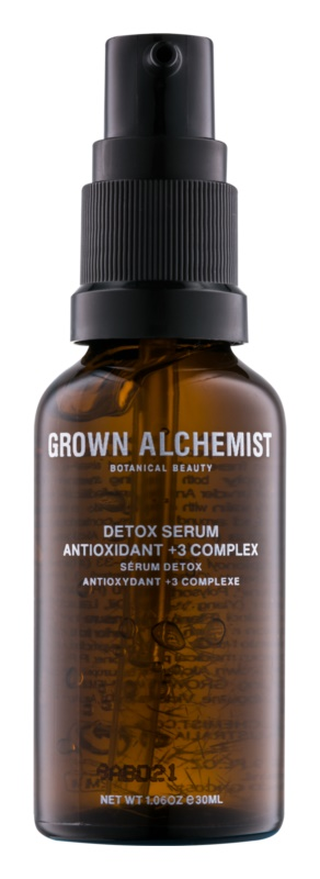 Grown Alchemist Detox detoxikačné pleťové sérum