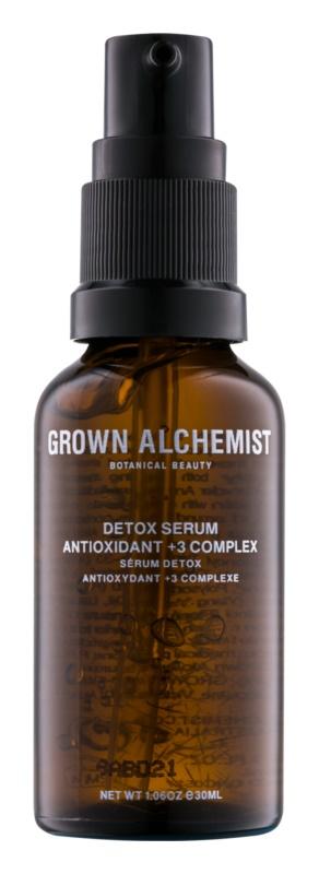 Grown Alchemist Detox sérum visage détoxifiant