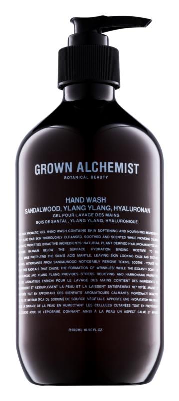 Grown Alchemist Hand & Body рідке мило для рук з ароматом сандалового дерева