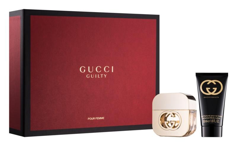 Gucci Guilty dárková sada II.