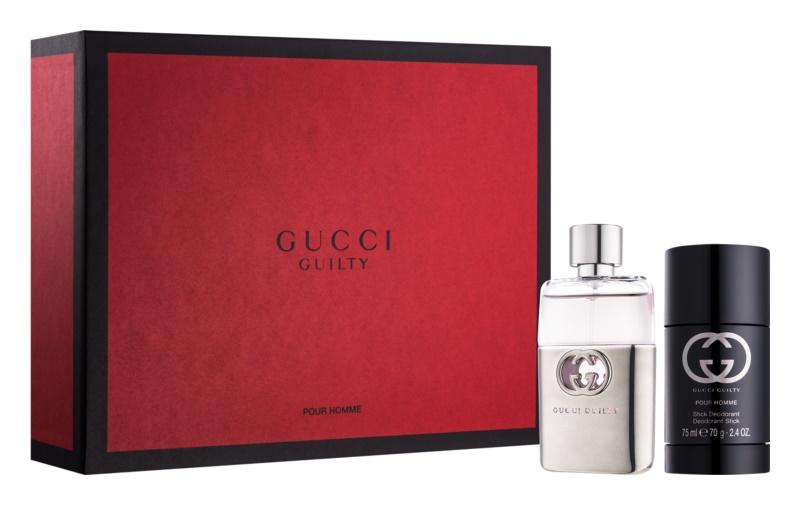 Gucci Guilty Pour Homme darčeková sada XI.